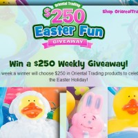Oriental Trading Easter Fun Giveaway