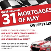 QuickenLoans 31 Mortgages of May Sweepstakes
