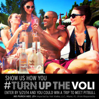 Show us how you #Turnupthevoli Sweepstakes
