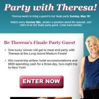 TLC Party with Theresa sweepstakes