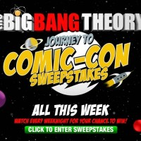 The Big BangTheory Journey to Comic-Con Sweepstakes