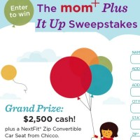 The Mom+ Plus It Up Sweepstakes