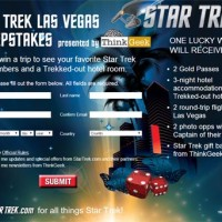 Win a Trip to Las Vegas Star Trek Sweepstakes