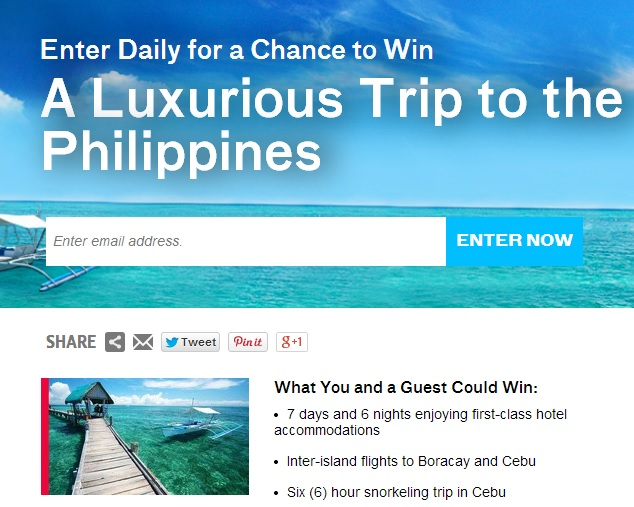 Travel channel enter trip sweepstakes