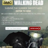 AMC The Walking Dead Survive the Summer Sweepstakes