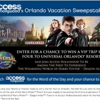 Access Hollywood's Orlando Vacation Sweepstakes
