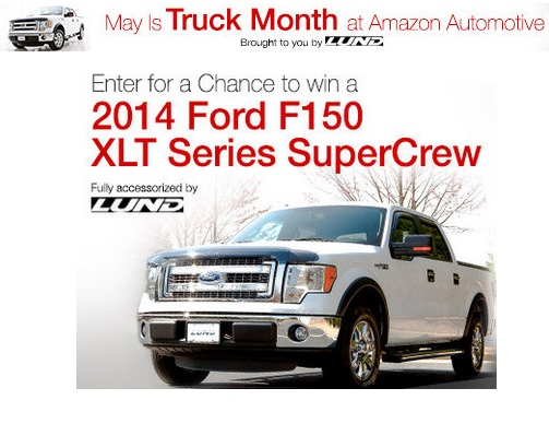 Amazon com and Lund Truck Month Giveaway - Sweeps Maniac