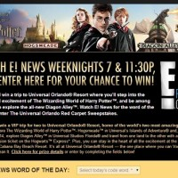 E! News Universal Sweepstakes