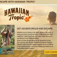 Escape with Hawaiian Tropic Sweepstakes