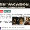 HGTV Rockin' Vacation Sweepstakes Win a trip to Disney