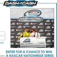 Nascar dash4cash sweepstakes