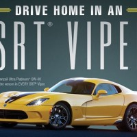 Win a SRT VIPER sweepstakes