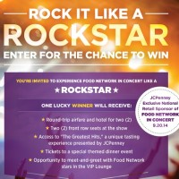 Food Network Rock it Like a Rockstar sweeepstakes