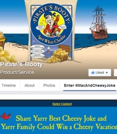 Pirate's Booty Mac & Cheese Joke Contest