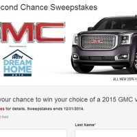 GMC Second Chance Sweepstakes
