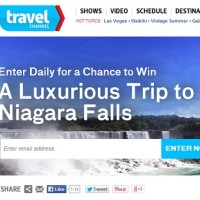 Travel Channel Sweepstakes Win a luxurious Trip to Niagara Falls