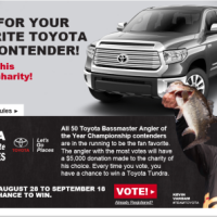 Toyota Tundra AOY Fan Favorite Sweepstakes