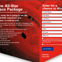Nascar Sprint Cup Series Sweepstakes