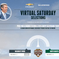 Chevy Virtual Saturday Selections Sweepstakes