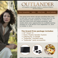 Starz Outlander Ultimate Viewing Party Sweepstakes