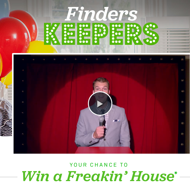 Trulia 39 s finders keepers win a house sweepstakes sweeps for Win a home contest