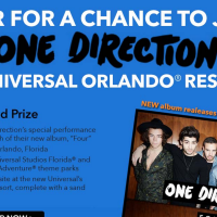 Claire's One Direction Sweepstakes