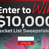 Mustang Bucket List Sweepstakes