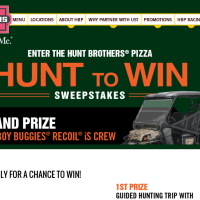 Hunt to Win Sweepstakes Win an ATV