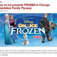 Disney Frozen in Chicago Sweepstakes