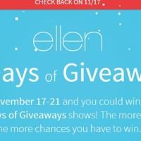 Ellen 12 Days of Giveaways 2014