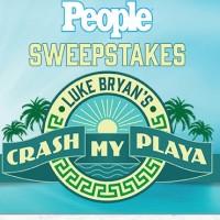 People Sweepstakes Luke Bryan's Crash My Playa