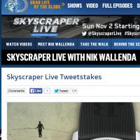 Skyscraper Live Tweetstakes