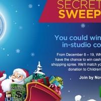 Wheel of Fortune Secret Santa Sweepstakes