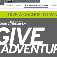 Eddie Bauer Give Adventure sweepstakes