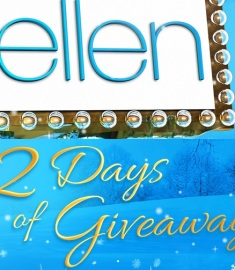 ellen 12 days of giveaways sweepstakes