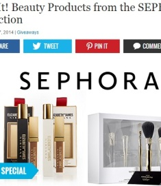 Extra Sephora Sweepstakes