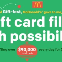 McDonald's 21 Days of Gift-fest Sweepstakes