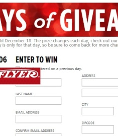 25 days of golden giveaways for christmas