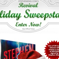 Stephen King Revival Holiday Sweepstakes