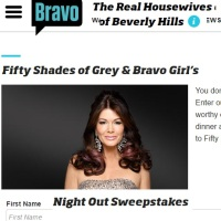 Fifty Shades of Grey & Bravo Girl's Night Out Sweepstakes