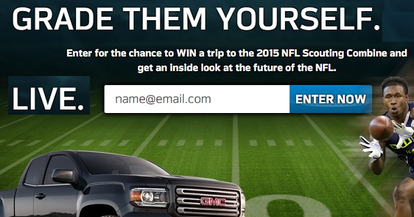 Gmc Com Nfl Sweepstakes Autos Post