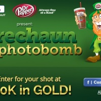 Leprechaun Photobomb Sweepstakes