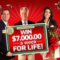 PCH Win $7000 a week for life