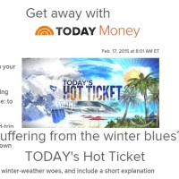 Today's Hot Ticket Sweepstakes
