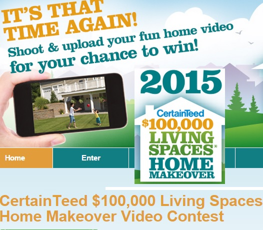 Kitchen Makeover Contest: $100K Living Space Home Makeover Contest