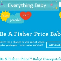 Be a Fisher Price Baby Sweepstakes 2015