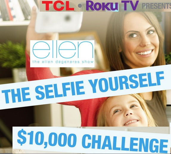 Ellen The Selfie Yourself $10000 Challenge