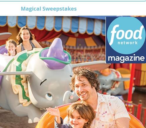 Food Network Magazine Magical Sweepstakes