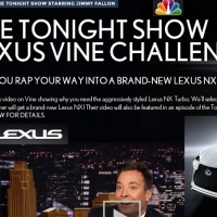The Tonight Show Lexus Vine Challenge