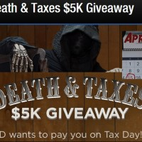 Death & Taxes $5k Giveaway